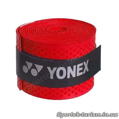 Червона тонка обмотка YONEX для ручки ракетки
