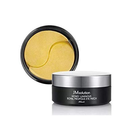 Патчи для увлажнения и эластичности с прополисом и маточным молочком JMsolution Honey Luminous Royal Propolis Eye Patch