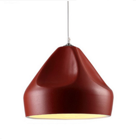 Подвесной светильник копия Pleat Box by Marset D23 (красный)