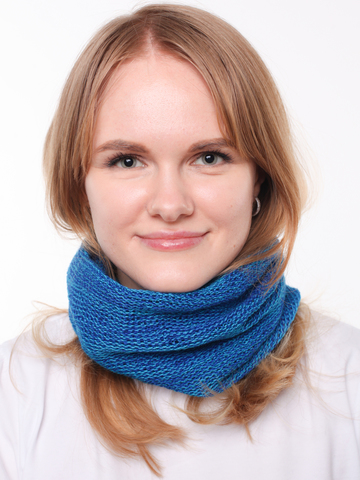Мини шарф манишка