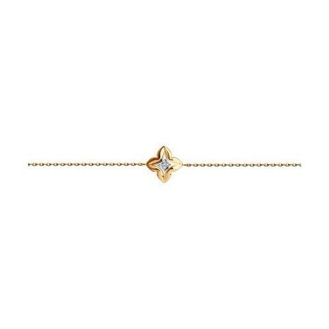 1050184 - Браслет из золота с бриллиантом