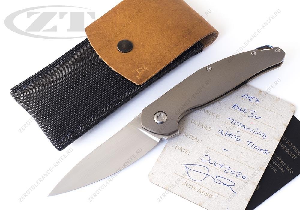Нож NEO Full Custom Jens Anso - фотография