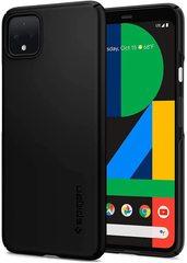 Чехол Spigen Thin Fit для Google Pixel 4 Case (2019) - Black
