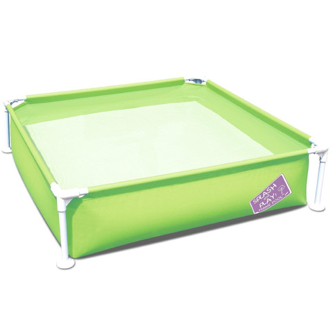 Детский каркасный бассейн Bestway 56217 (122х122х30.5 см) Green / 17434