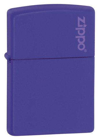 Зажигалка Zippo Purple Matte Logo