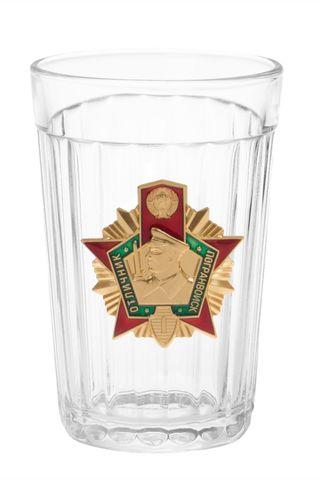 Стакан граненый пограничник - Магазин тельняшек.ру 8-800-700-93-18Стакан граненый