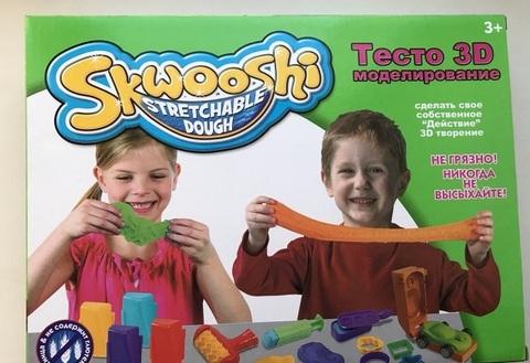 Тесто Skwooshi для 3D моделирования