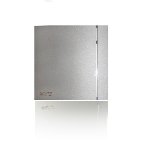 Накладной вентилятор Soler & Palau SILENT-200 CRZ DESIG-3С SILVER  (таймер)