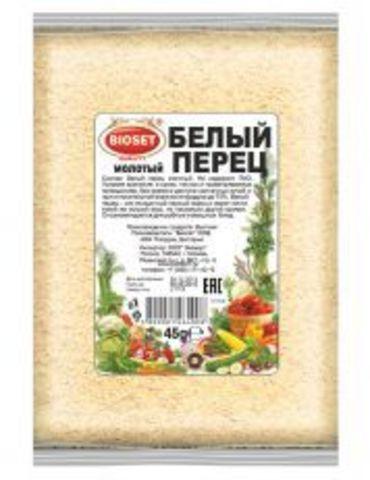 Перец белый молотый, 45 гр.