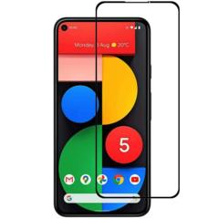 Защитное стекло 2.5d для Google Pixel 5 (Black / Черное)