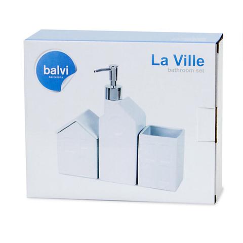 Набор ёмкостей для ванной комнаты 'La Ville'