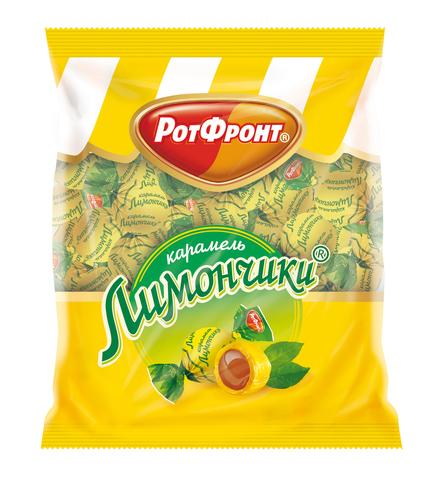 """Карамель """"Рот Фронт"""" Лимончики, 250 г"""
