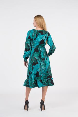Платье из полиэстера ниже колена недорого