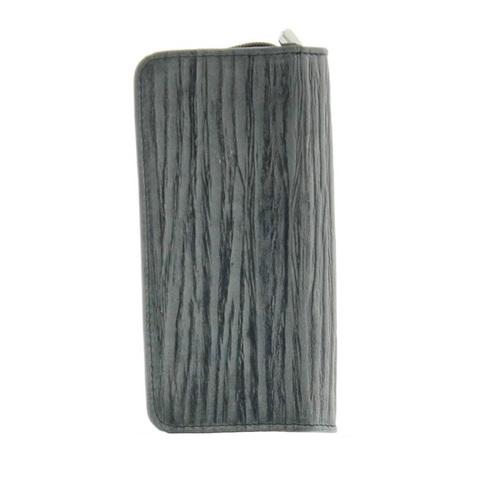 Маникюрный набор Erbe, 5 предметов, цвет серый, кожаный футляр