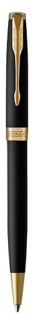 Набор с гравировкой: Ежедневник  и Шариковая ручка Parker Sonnet Black GT123