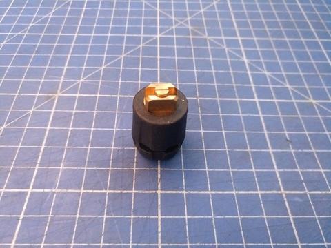 MESTO Форсунка 1422, пластиковый корпус, сопло латунь 0,2 распыл 80 град, без фильтра