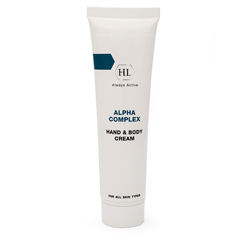 Holy Land Alpha Complex: Крем для рук и тела (Hand & Body Cream), 100мл