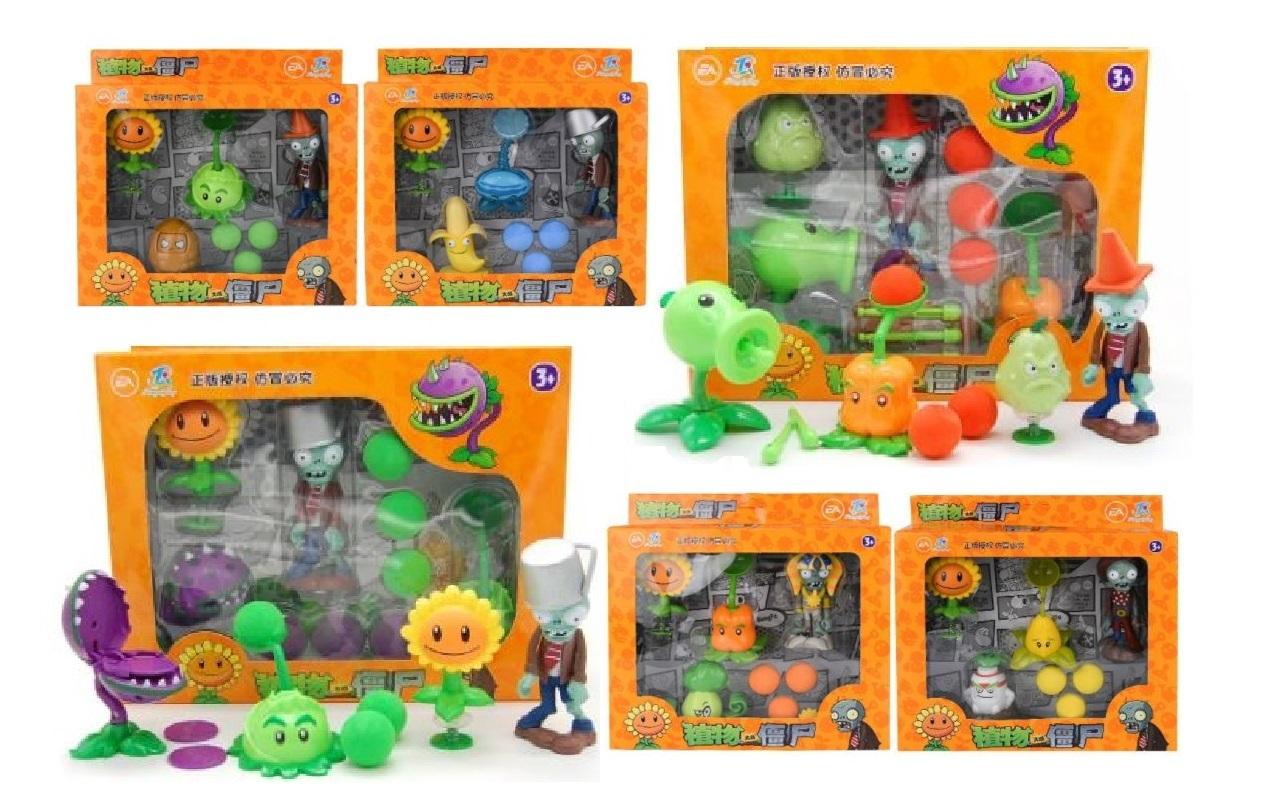 Растения против Зомби набор функциональных растений и зомби