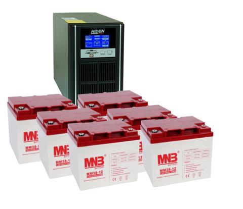 Комплект ИБП UDC9203H-АКБ MM38 (72в, 2400Вт)