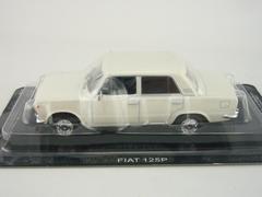 Polski Fiat 125P white 1:43 DeAgostini Auto Legends USSR #165