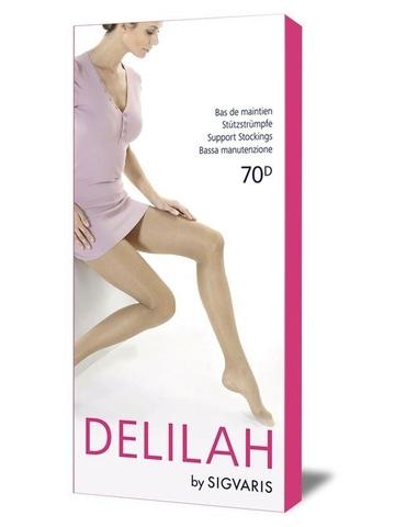 Колготы для беременных Sigvaris Delilah, 70 DEN, закрытый мысок