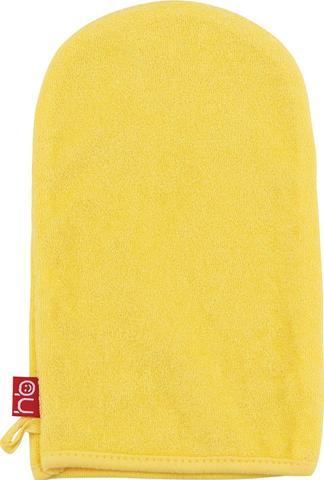 Мочалка-рукавичка для купания Happy Baby Wash and Bath Yellow