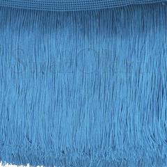 Купить бахрому оптом в Екатеринбурге Capri Blue голубую