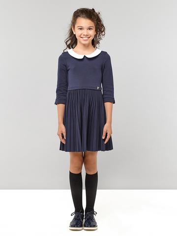 Платье трикотажное плиссе