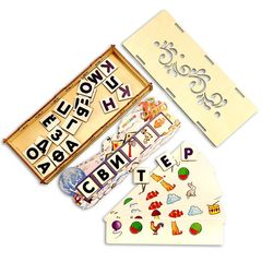 Обучающая игра Зимние словечки, Smile Decor П311