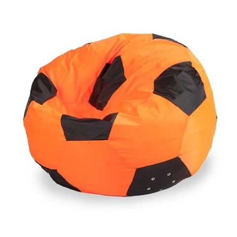 Кресло-мешок «Мяч» Оранжево-черный