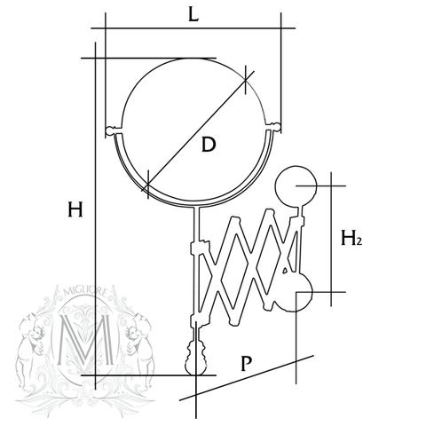 Migliore Cristalia ML.CRS-60.219 схема