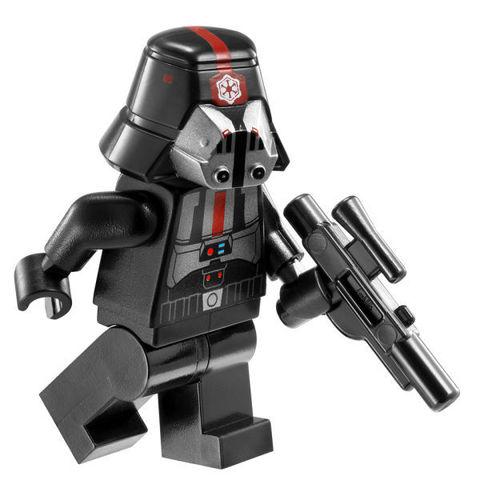 LEGO Star Wars: Ситхский перехватчик класса «Фурия» 9500 — Sith Fury-class Interceptor — Лего Стар ворз Звёздные войны