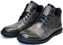Купить зимние ботинки мужские в украине Ikoc 3620-3 S