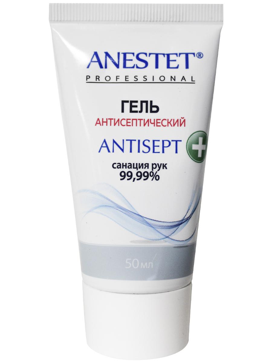 Гель антисептический в ламинатной тубе ANTISEPT ANESTET ( Антисепт ) , 50 мл