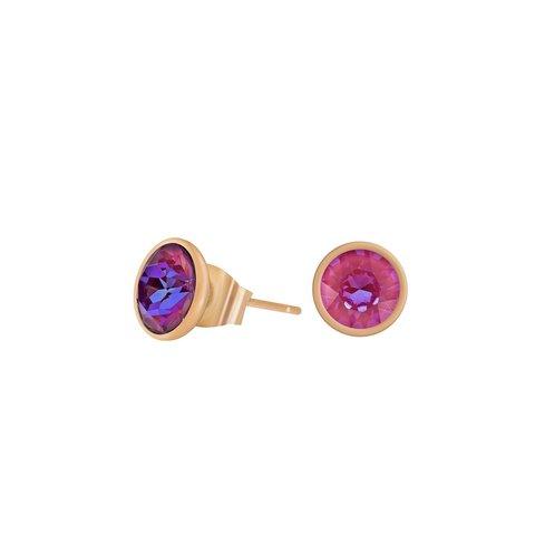Пусеты Lotus Pink Delite SWE298 LPD RG
