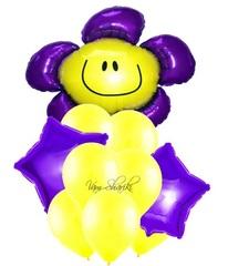 """Букет """"Фиолетовый цветок"""""""