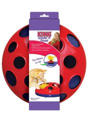 Игрушка трек для кошек KONG Glide'n'Seek трек на батарейках диаметр 24 см