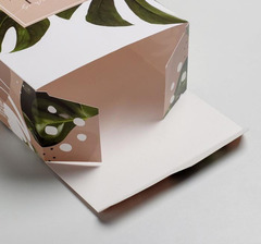 Коробка прямоугольная, 16*23*7,5 см, 1 шт.