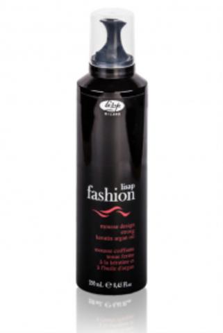 Мусс для укладки волос сильной фиксации «Lisap Fashion Mousse Design Strong» (250 мл)