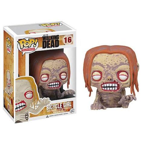 Фигурка Funko Pop Ходячие Мертвецы - Зомби велосипедистка (The Walking Dead - Bicycle Girl Zombie)