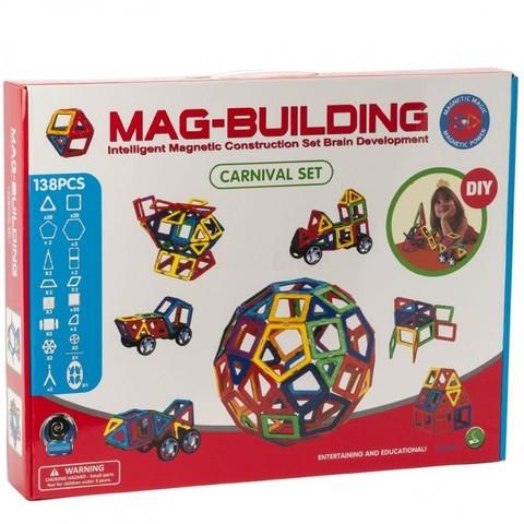 Магнитный конструктор Mag-Building Carnival GB-W138