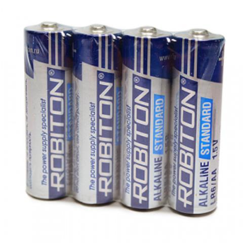 Батарейка щелочная AA(LR06) Robiton