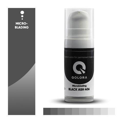 Qolora Black Ash 406 (Черная зола)