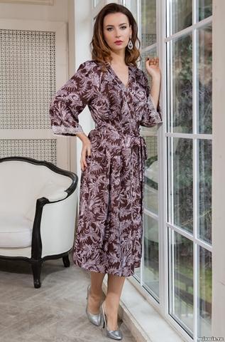 Длинный халат-кимоно Mia-Amore 3089 EVITA (70% шелк)