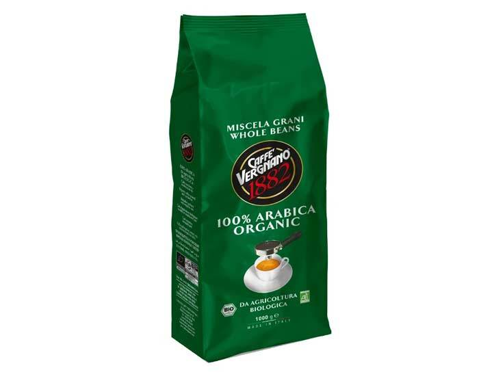 Кофе в зернах Vergnano Bio Organic, 1 кг