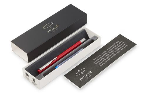 Перьевая ручка Parker Vector Standard F01, цвет: Red123