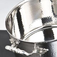 Кастрюля 16см (1,5л), крышка с посеребренной декорированной ручкой, RUFFONI Opus Prima арт. R16 Ruffoni RUFFONI