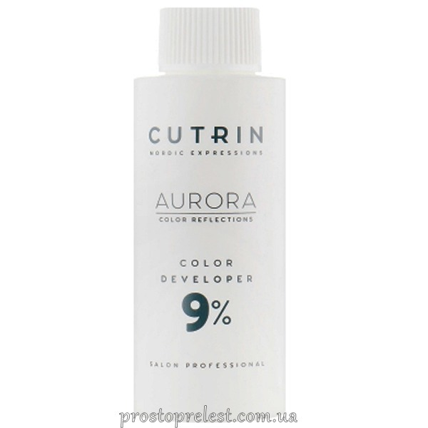 Cutrin Aurora Color Developer - Окисник для волосся 9% 1