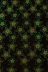 Плед с рукавами Gekoko «Светящиеся Звезды» неоновый 9