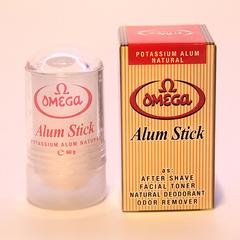 Натуральные квасцы Omega Alum Stick